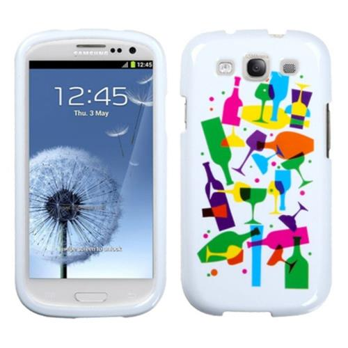 Insten Cosmo Hard Cover Case For Samsung Galaxy S3 - White