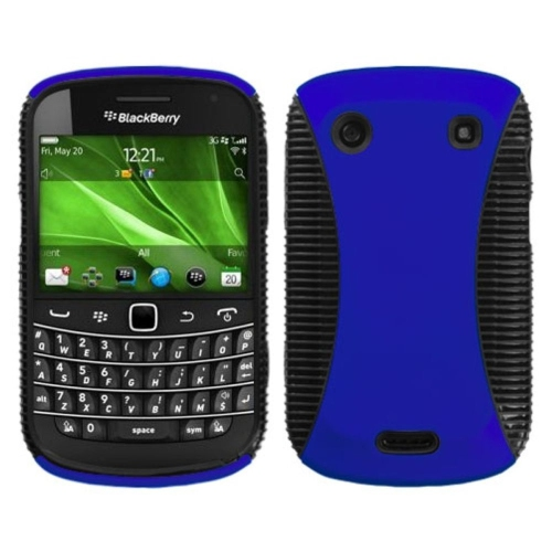 Insten Hard Hybrid TPU Case For BlackBerry Bold 9900/9930 Bold Touch 9900/9930 - Blue