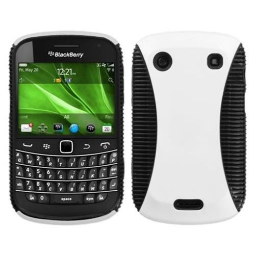 Insten Hard Dual Layer TPU Case For BlackBerry Bold 9900/9930 Bold Touch 9900/9930 - White