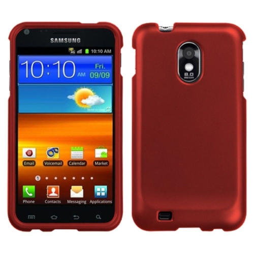 Insten Hard Case For Samsung Galaxy S2 Epic 4G Touch D710 - Red