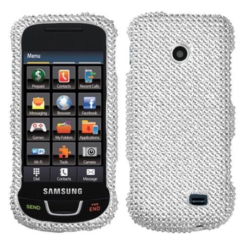Insten Hard Bling Case For Samsung T528G - Silver