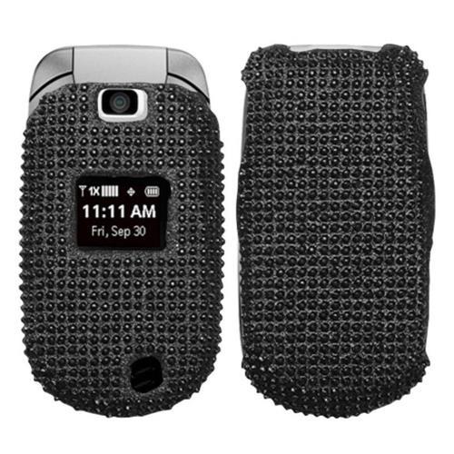 Insten Hard Diamante Cover Case For LG Revere - Black