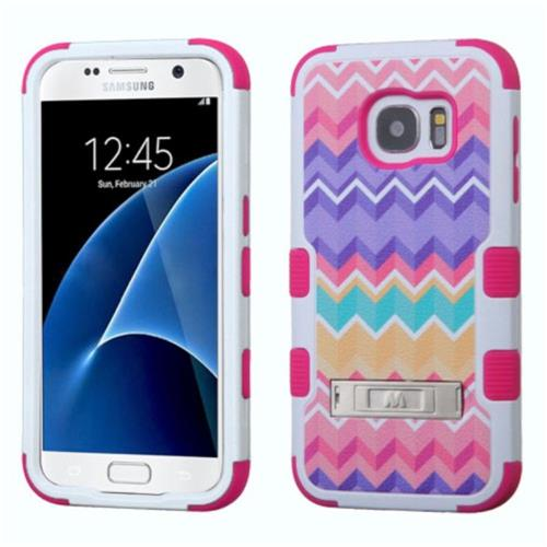 Insten Fitted Soft Shell Case for Samsung Galaxy S7 - Pink;Purple;Camouflage