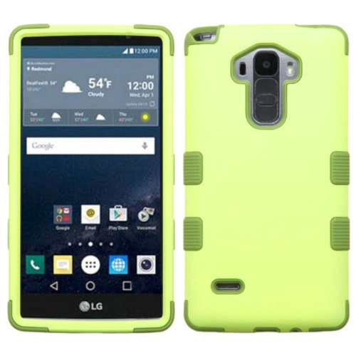 Insten Tuff Hard Hybrid Silicone Case For LG G Stylo LS770/G Vista 2 - Green
