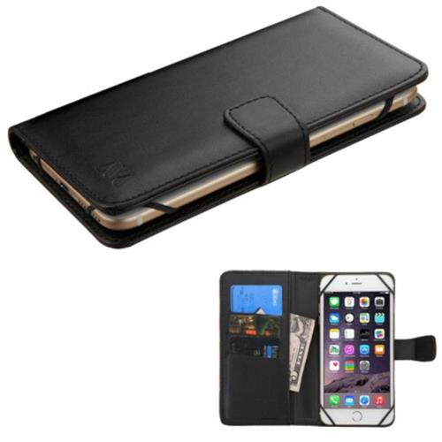 Insten Black Leather Card Slot Stand Case Wallet For Samsung Galaxy Note 7