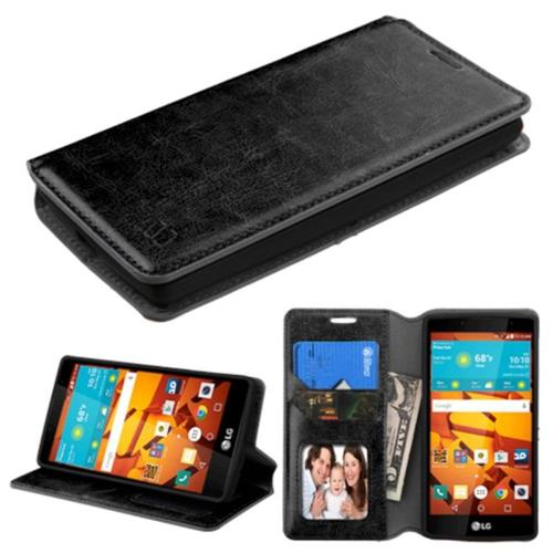 Insten Wallet Case - Black