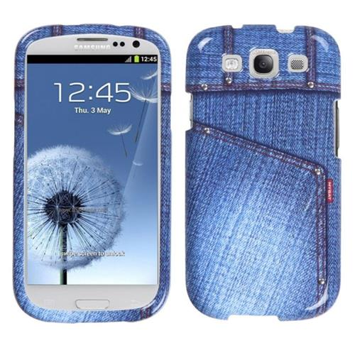 Insten Fitted Hard Shell Case for Samsung Galaxy S3 - Blue