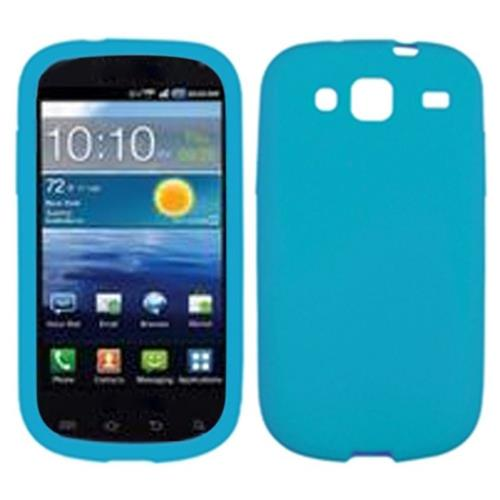 Insten Rubber Case For Samsung Stratosphere 3 - Blue
