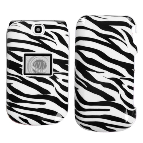 Insten Zebra Hard Case For LG Envoy II - Black/White