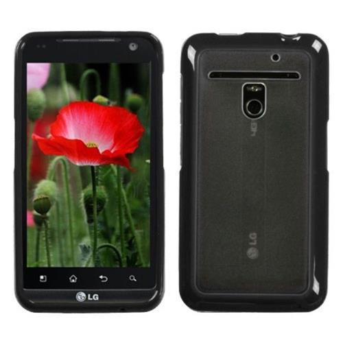 Insten Hard TPU Cover Case For LG Esteem/Revolution - Clear/Black