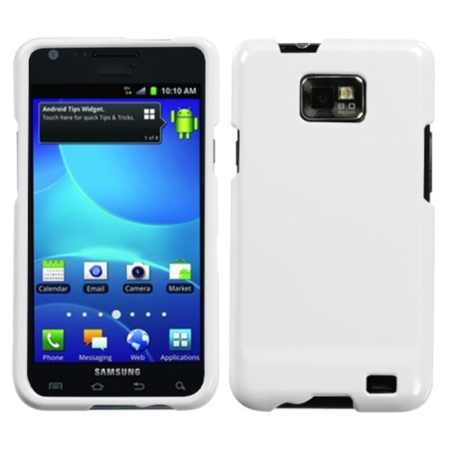 Insten Hard Transparent Crystal Case For Samsung Galaxy S2 Attain I777 - White