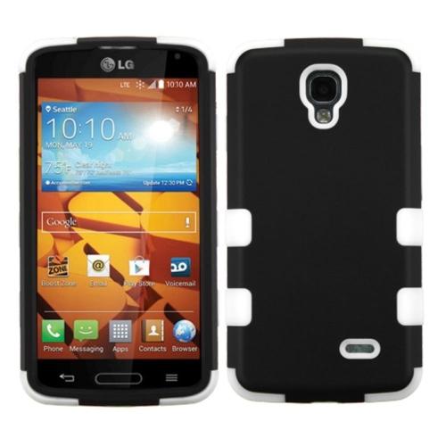 Insten Tuff Hard Hybrid Silicone Case For LG Volt - White