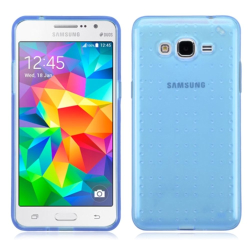 d935f249306 Insten Rubber Cover Case For Samsung Galaxy Grand Prime - Blue   Other  Samsung Cases - Best Buy Canada