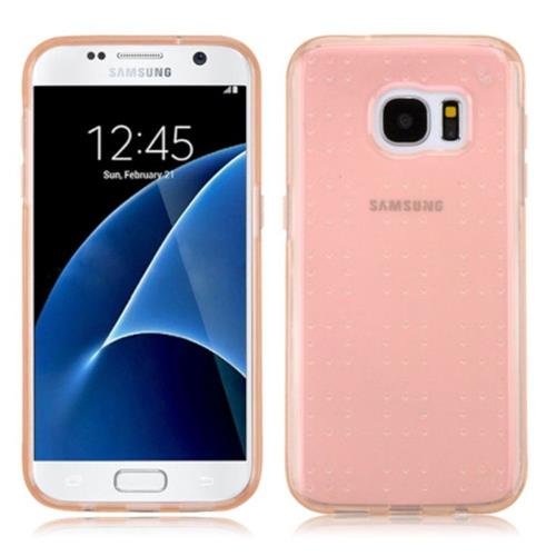 Insten TPU Cover Case For Samsung Galaxy S7 - Rose Gold