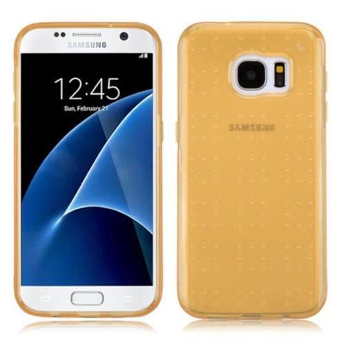 Insten Gel Cover Case For Samsung Galaxy S7 - Gold