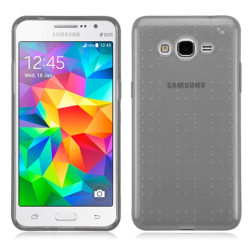Insten Gel Case For Samsung Galaxy Grand Prime - Gray