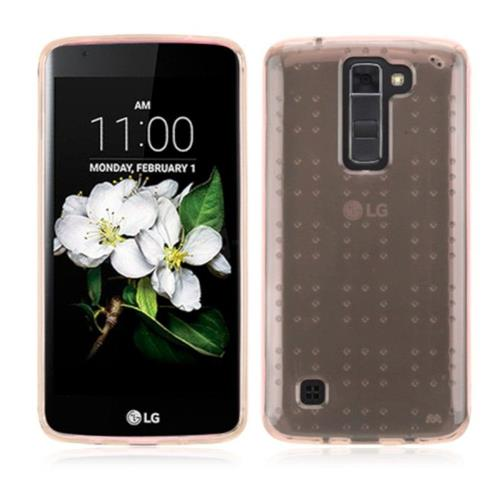 Insten Gel Case For LG K7 Tribute 5/K8 (2016) - Rose Gold