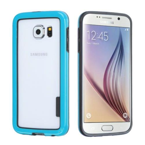 Insten TPU Bumper For Samsung Galaxy S6 - Blue