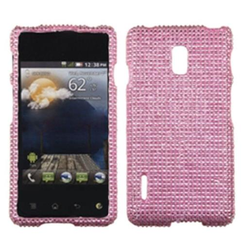 Insten For LG Optimus F7 LG870/(Boost Mobile) US780 (US Cellular) Pink Hard Case