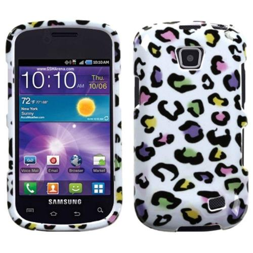 Insten Leopard Hard Cover Case For Samsung Illusion/Proclaim - White/Colorful