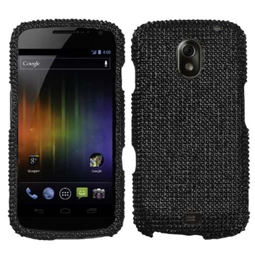 Insten Hard Bling Case For Samsung Galaxy Nexus Prime i515 - Black