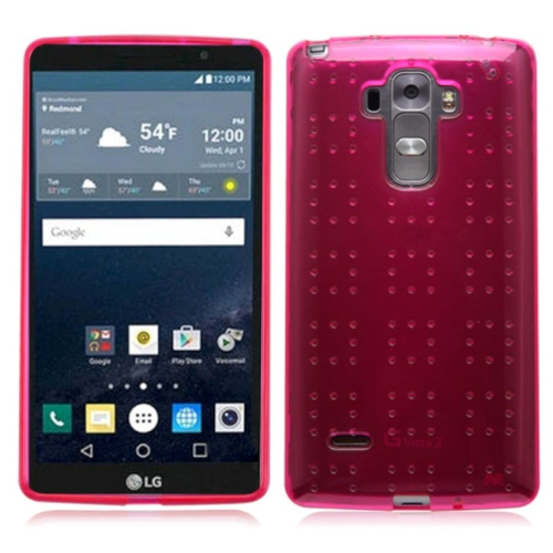 Insten Gel Cover Case For LG G Stylo LS770/G Vista 2 - Hot Pink