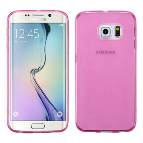 Insten TPU Case For Samsung Galaxy S6 Edge - Hot Pink