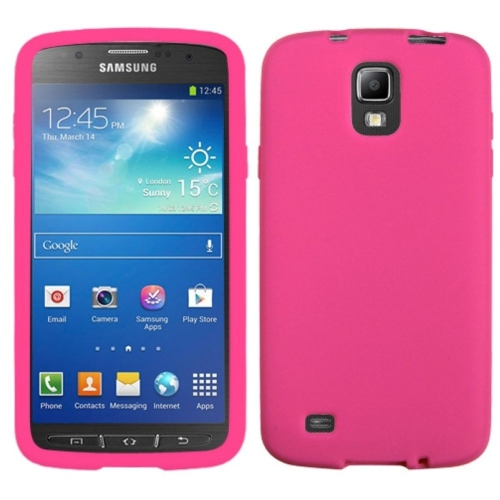 Insten Fitted Soft Shell Case for Samsung Galaxy S4 Act4e - Pink