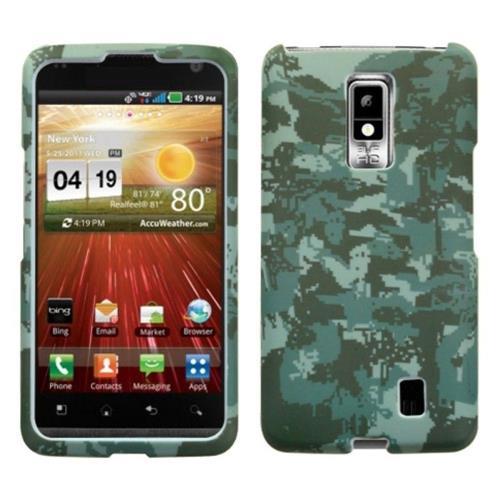Insten Lizzo Digital Camo Hard Case For LG Spectrum / Revolution 2 - Green