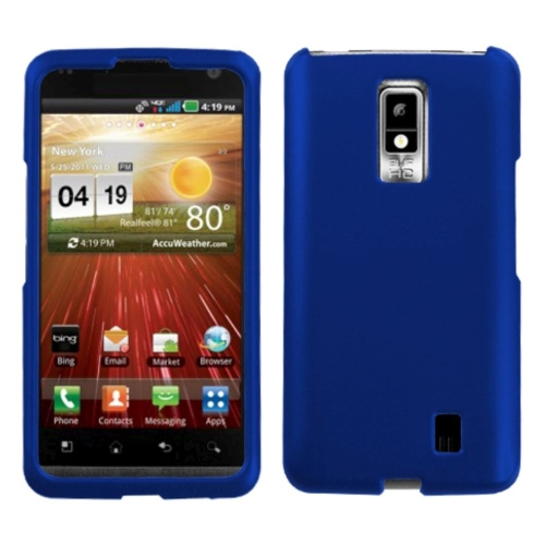 Insten Hard Cover Case For LG Spectrum / Revolution 2 - Blue
