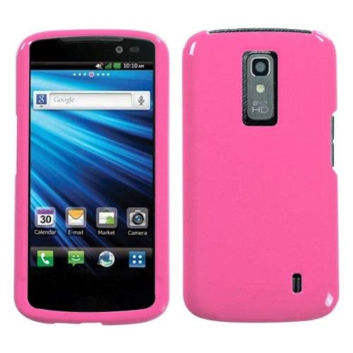 Insten Hard Clear Case For LG Nitro HD - Pink