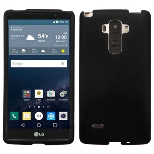 Insten Hard Rubber Coated Cover Case For LG G Stylo LS770 - Black