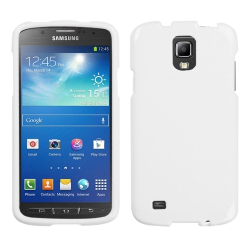 Insten Gel Cover Case For Samsung Galaxy S4 Active - White