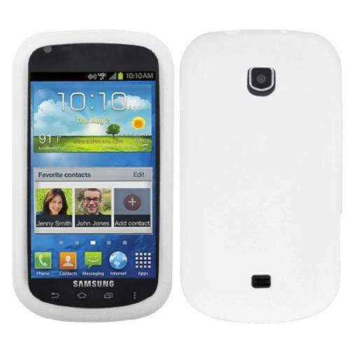Insten Rubber Case For Samsung Galaxy Stellar 4G - White