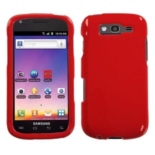 Insten Hard Case For Samsung Galaxy S Blaze 4G - Red