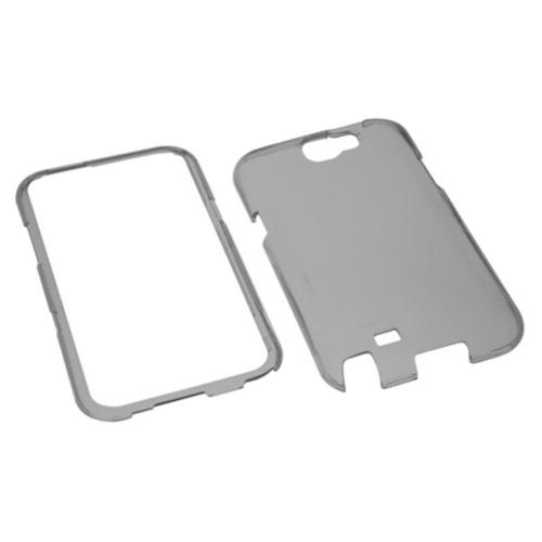 Insten Fitted Hard Shell Case for Samsung Galaxy Note 2 - Smoke