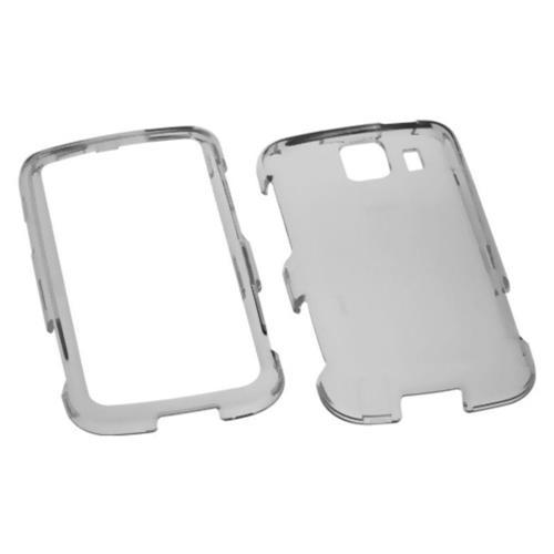 Insten Hard Clear Crystal Case For LG Optimus S/Optimus U/Optimus V - Smoke