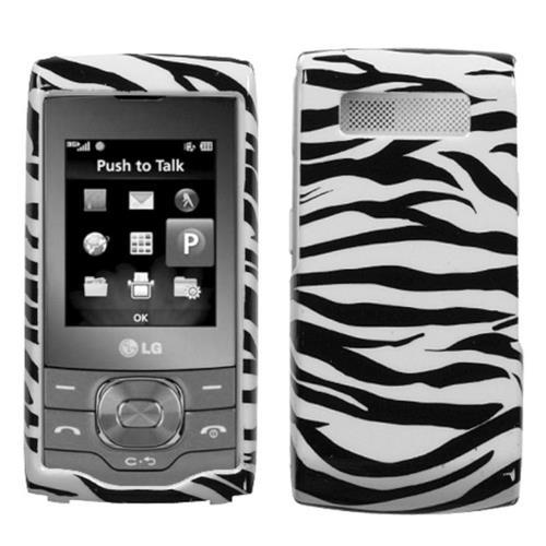 Insten Zebra Hard Cover Case For LG GU292 - Black/White