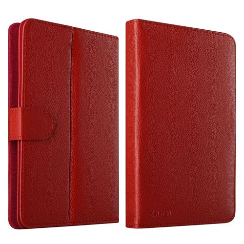 Insten Flip Leather Case For iPad Mini 3, Samsung Galaxy Tab 7.0/7.0 Plus/Galaxy Tab 4 7.0 LTE, Red