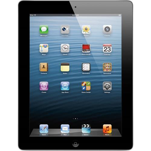 iPad 4 WIFI + 4G Quatrieme Generation 16gb Noir, remis a neuf
