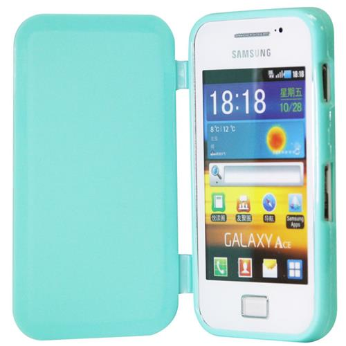 Exian Fitted Soft Shell Case for Samsung Galaxy Ace - Green