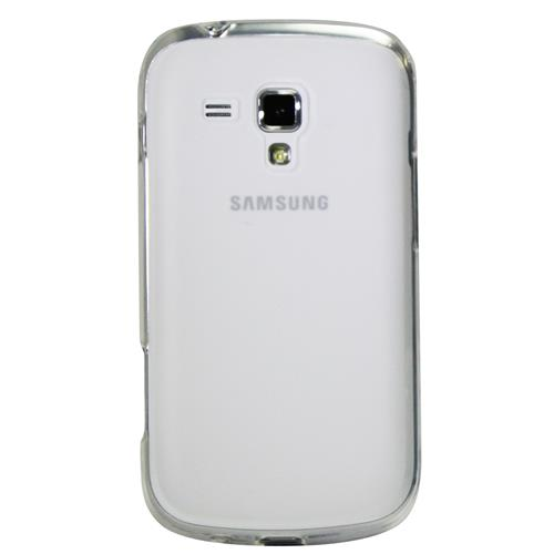 Exian Samsung Galaxy Ace 2X Silicone Case Frosted Transparent Clear