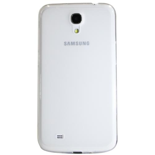 "Exian Samsung Galaxy Mega 6.3"" TPU Case Frosted Transparent Clear"