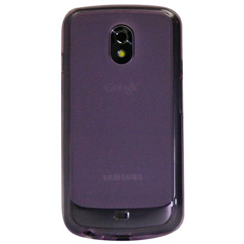 Exian Samsung Galaxy Nexus Silicone Case Frosted Transparent Pink