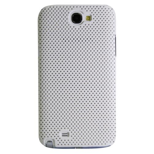 Exian Fitted Soft Shell Case for Samsung Galaxy Note - White