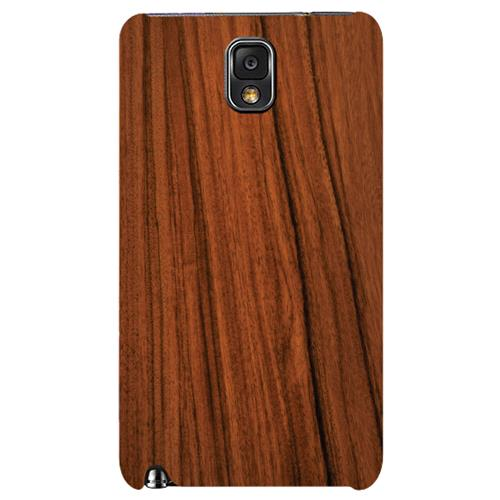 Exian Samsung Galaxy Note 3 TPU Case Exian Design Wood Pattern Brown