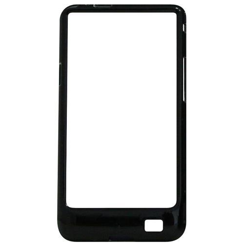 Exian Samsung Galaxy S2 Hard Plastic Bumper Case Black