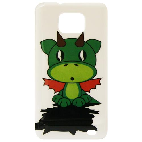 Exian Samsung Galaxy S2 Hard Plastic Case Exian Design Cartoon Dragon
