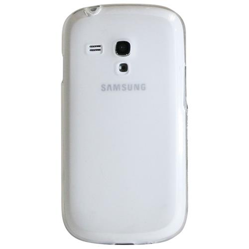 Exian Samsung Galaxy S3 Mini Silicone Case Frosted Transparent Clear
