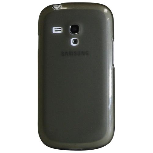 Exian Samsung Galaxy S3 Mini Silicone Case Frosted Transparent Grey
